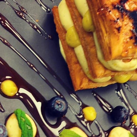 Mille feuille vegan του Chef Γιώργου Βαϊδάνη